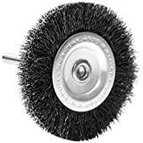 Century Drill and Tool 76433 Fine Drill Radial Wire Brush, 3-Inch