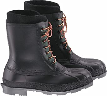 "ONGUARD 86397 PVC Wolf Pac Men's Steel Toe Boots with Cleated Outsole, 10"" Height, Size 14"