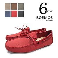 【BOEMOS ボエモス】 キャンバス ドライビングシューズ 【3005】ローファー スリッポン イタリア製
