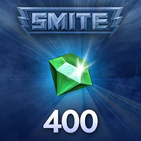 400 SMITE Gems - PC ONLY [Download]