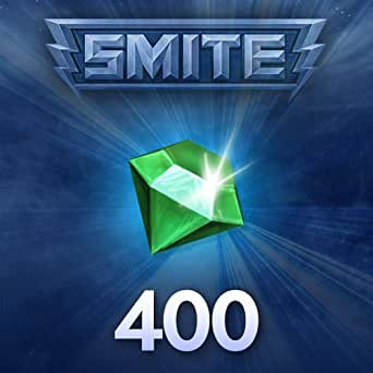 SMITE : 400 SMITE Gemmes [Game Connect]
