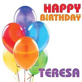 Happy Birthday Teresa The Birthday Crew Amazon Co Uk
