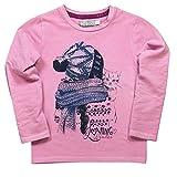 boboli, CAMISETA PUNTO ELÁSTICO - Camiseta para bebés, color ciclamen, talla 5 años