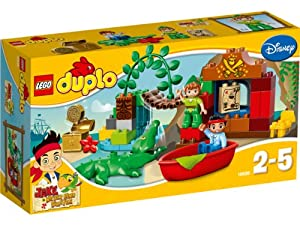 LEGO DUPLO Jake and the Never Land Pirates 10526: Peter Pan's Visit