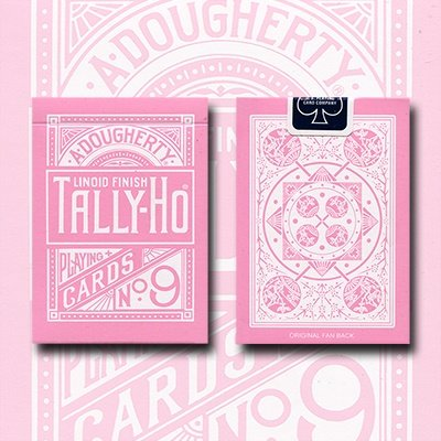 tally-ho-reverse-fan-back-pink-limited-ed-by-aloy-studios-uspcc