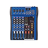 Webetop CT40S 4 Channel Professional Pure Audio Mixer