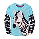 Baby Box Little Girls' kids long sleeve T-Shirts Size 3T