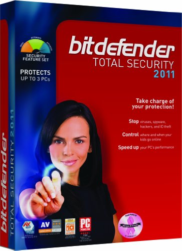 BitDefender Total Security 2011 - 3 PC/1 year