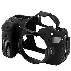 easyCover Silicone Case for Canon 60D- Black