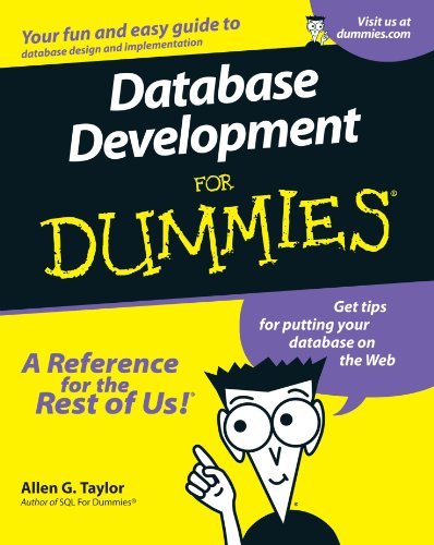 Database Development For Dummies