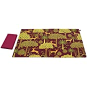 Legend Of The Backwoods Table Mats And Napkins Set