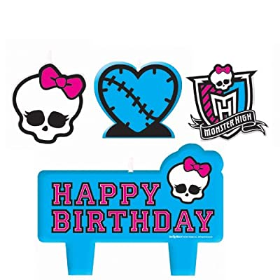 Amscan Monster High - Mini Molded Candles Party Accessory by ShindigZ