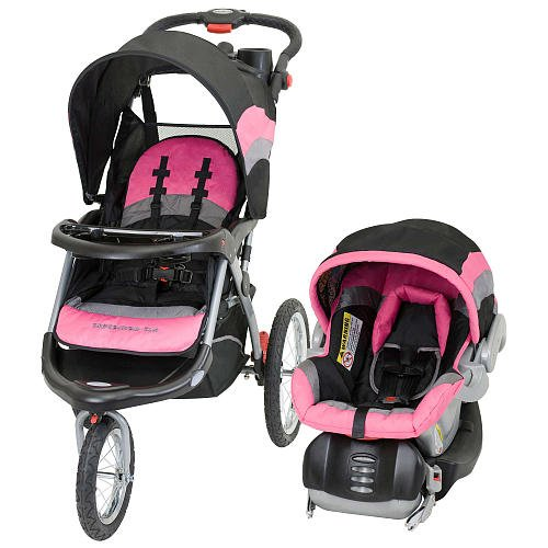 baby trend expedition elx travel system stroller pink nikki reviews car seats usa. Black Bedroom Furniture Sets. Home Design Ideas