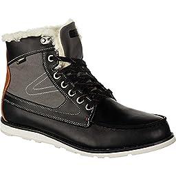 Tretorn Men\'s Garde Stovel Vinter GTX Work Boot, Black, 7.5 D US