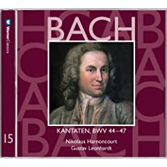 Bach, JS : Sacred Cantatas BWV Nos 44 - 47