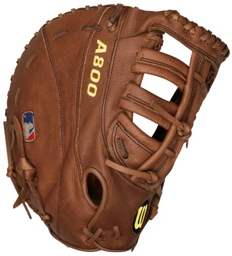Wilson A800 2800 Game Ready Soft Fit First Baseman's Throw Baseball Mitt (12-Inch)