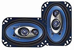 Pyle PL463BL 4-Inch x 6-Inch 240-Watt 3-Way Speakers