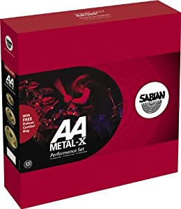 Sabian Metal-X AA Performance Brilliant Cymbal Set