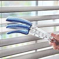 Clear Blind Microfiber Window Blind Cleaner Triple Wand Duster