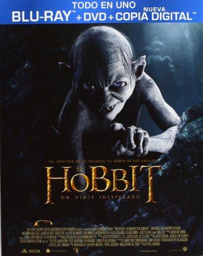 El Hobbit: Un Viaje Inesperado (DVD + BD + Copia Digital) + Libreto [Blu-ray]