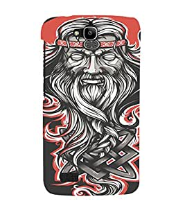 PrintVisa Modern Baba Design 3D Hard Polycarbonate Designer Back Case Cover for Huawei Honor Holly