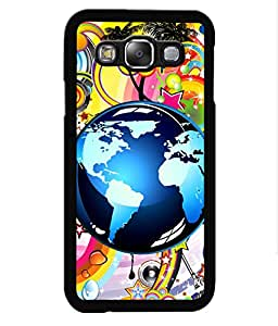 Crazymonk Premium Digital Printed Back Cover For Samsung Galaxy J3