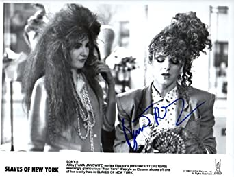"Bernadette Peters Autographed ""Slaves on New York"" 8x10 Photo"