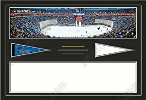St. Louis Blues Scottrade Center Stadium & Your Choice Of Stadium Panoramic... by Art and More, Davenport, IA