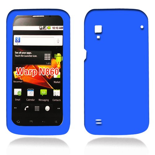 ZTE N860 WARP Soft Skin Case Blue Skin U.S Cellular