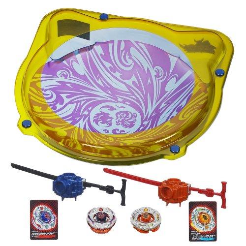 Beyblade Samurai Cyclone Battle Set - 51WLbeQJwIL - Beyblade Samurai Cyclone Battle Set(Discontinued by manufacturer)