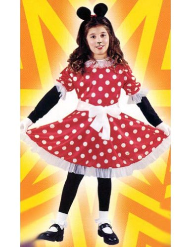 Miss Mouse Child Md Kids Girls Costume