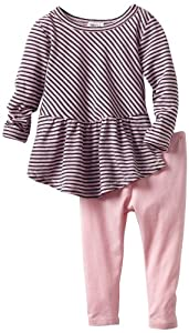 Splendid Littles Baby-Girls born Naples Stripe Peplum Set from Splendid Littles