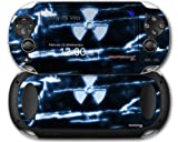 Sony PS Vita Skin Radioactive Blue by WraptorSkinz