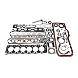 CNS EF044C2 Engine Full Gasket Set for Toyota 3.0L Supra Turbo and Non-Turbo Cressida 7MGE 7MGTE L6 Engine with Graphite Cylinder Head Gasket