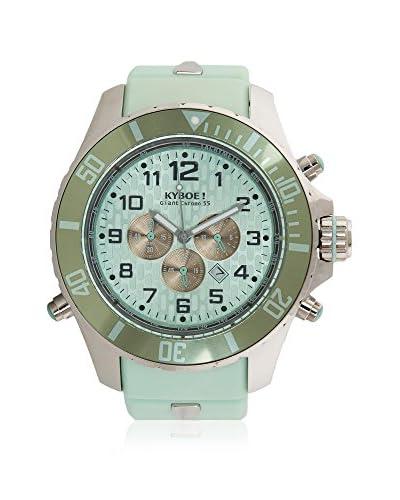 KYBOE! Reloj automático Unisex Verde Agua 48 mm
