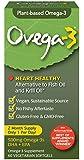 Ovega-3 Vegetarian Softgels, 500 mg, 60 Count