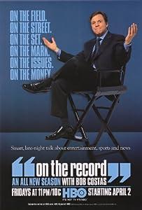 On the Record with Bob Costas Movie Poster (27 x 40 Inches - 69cm x 102cm) (2001) -(Bob Costas)(Armen Keteyian)(Wanda Sykes)