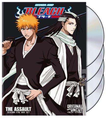 Bleach Uncut Box Set: Season  5 - The Assault (Bleach Anime Box Set compare prices)