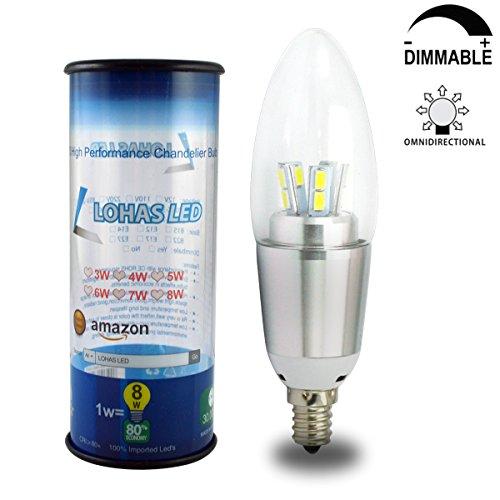 7 Watt Dimmable B35 LOHAS LED Chandeliers Light