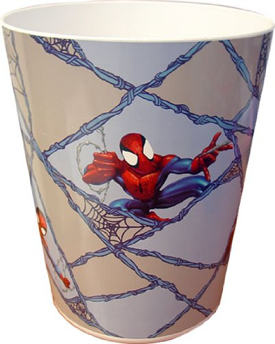 Marvel-Spiderman Plastic Wastebasket