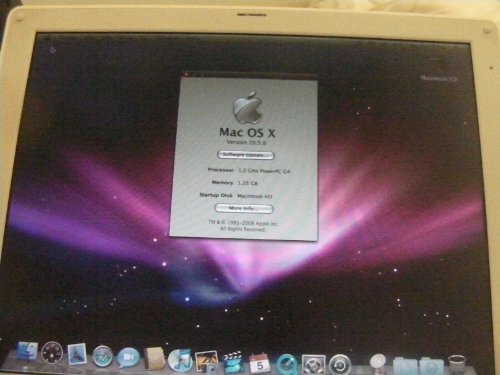 Apple ibook A1054 G4 1.07Ghz 768MB 40GB DVD/CDRW WiFi Firewire