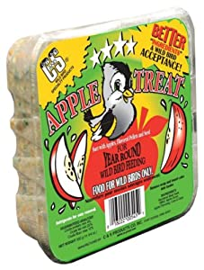 C & S Products Suet Apple Treat, 12-Piece
