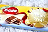 2 Bars X 100g of Marabou Dröm Krisp Original Swedish Milk Chocolate (Mjolkchoklad)