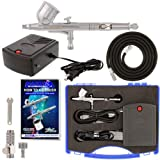 General Purpose Airbrush System, Precision Dual-action Gravity Feed Airbrush ...