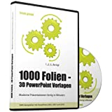 "1000 Folien - 3D PowerPoint Vorlagen - Farbe: fresh.green: Moderne Pr�sentationen f�r  Business, Kommunikation, Marketing, Vertrieb, Verkauf, Sales, ... - f�r Microsoft PowerPoint und Apple Keynotevon ""Future Pace Media"""