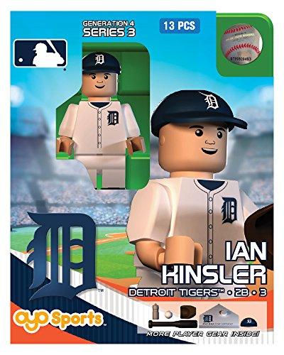 Ian Kinsler MLB Detroit Tigers Oyo G4S3 Minifigure
