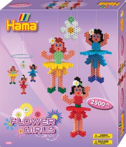 Hama / Flower Girl Mobile Fuse Beads Gift Set