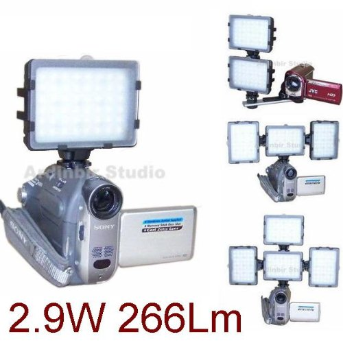 Continuous Video Led Light For Panasonic Pv-Gs39, Gs320, Gs90, Gs500, Gs300, Gs19, Gs29, Gs31, Gs150, Gs80, Gs120, Gs9, Gs15, Gs35, Gs400, Gs12, Gs65