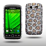 BLACKBERRY TORCH 9860 LEOPARD SPOTTED DIAMANTE DISCO BLING BACK COVER BY CELLAPOD CASESby CELLAPOD