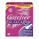 Carefree 0045820 Large Plus Pantyliners - 48-Piece